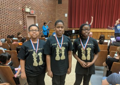 Chess Club with Medals
